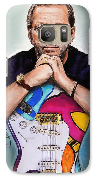 Eric Clapton Galaxy S7 Case by Melanie D