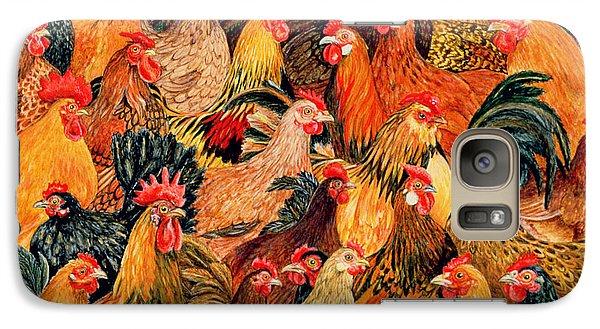 Fine Fowl Galaxy S7 Case by Ditz