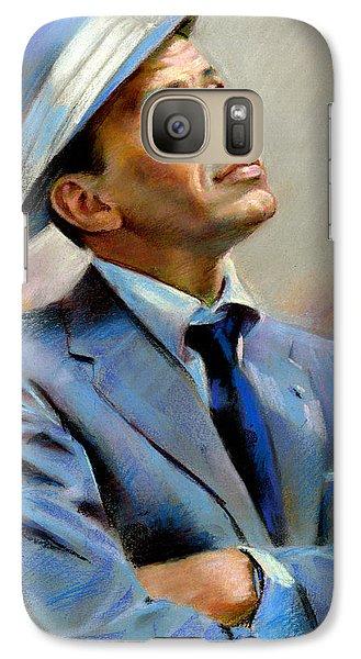 Frank Sinatra  Galaxy Case by Ylli Haruni