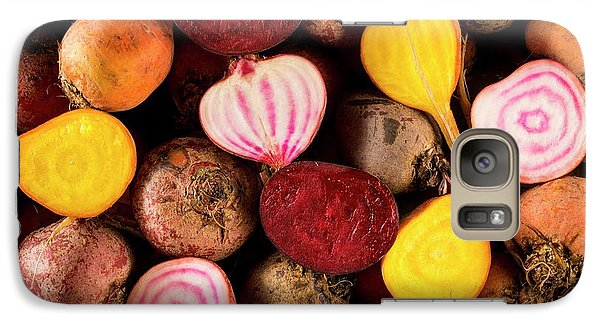 Fresh Beetroot And Red Onions Galaxy Case by Aberration Films Ltd