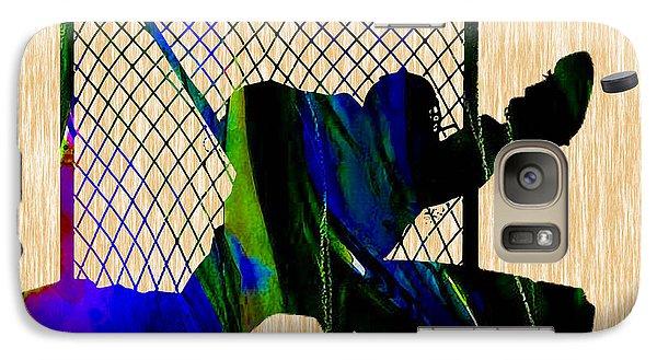 Goalie Galaxy Case by Marvin Blaine