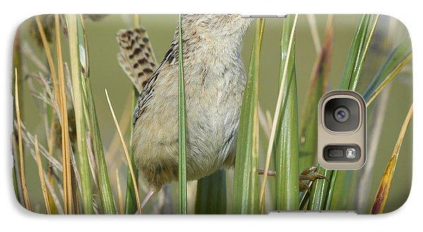 Grass Wren Galaxy Case by John Shaw
