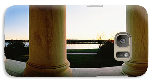 Jefferson Memorial Washington Dc Usa Galaxy Case by Panoramic Images