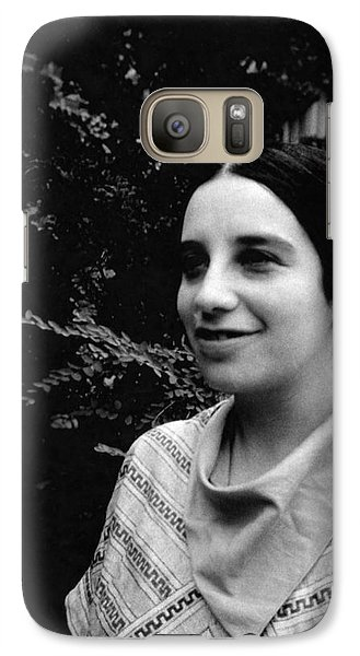 Jenny Bramley Galaxy S7 Case by Emilio Segre Visual Archives/american Institute Of Physics