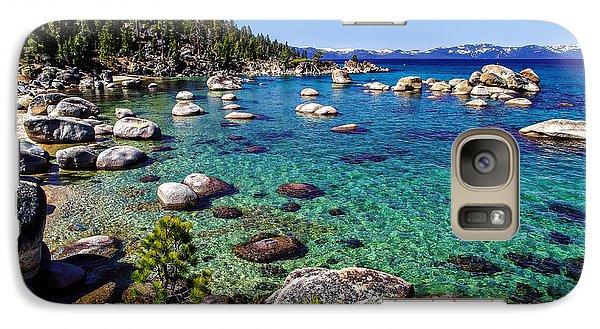 Lake Tahoe Waterscape Galaxy S7 Case by Scott McGuire