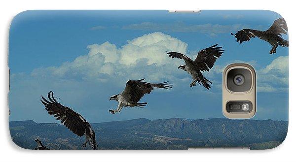 Landing Pattern Of The Osprey Galaxy Case by Ernie Echols
