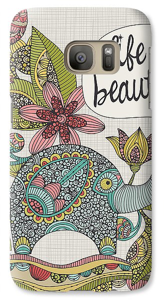 Life Is Beautiful Galaxy Case by Valentina