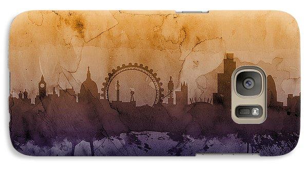 London England Skyline Galaxy S7 Case by Michael Tompsett