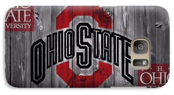 Ohio State Buckeyes Galaxy S7 Case by Dan Sproul