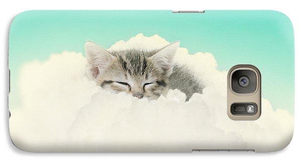 On Cloud Nine Galaxy Case by Amy Tyler