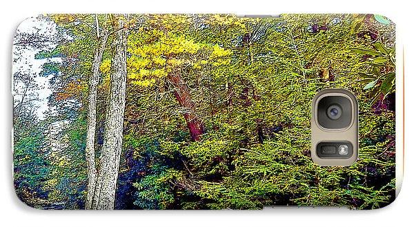 Galaxy Case featuring the photograph Pennsylvania Mountain Stream In Autumn by A Gurmankin