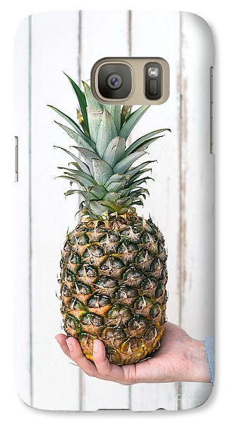 Pineapple Galaxy S7 Case by Viktor Pravdica