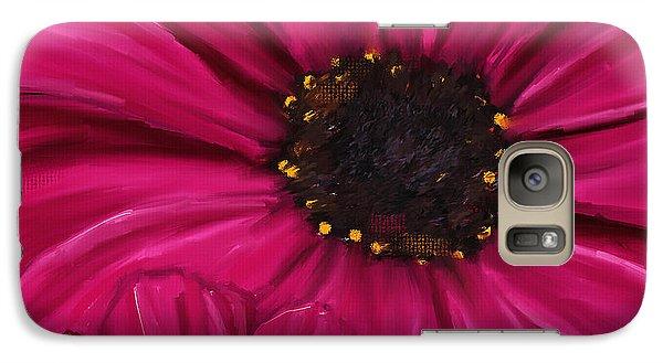 Purple Beauty Galaxy Case by Lourry Legarde