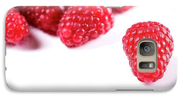 Raspberries Galaxy S7 Case by Aberration Films Ltd