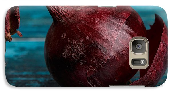 Red Onions Galaxy Case by Nailia Schwarz
