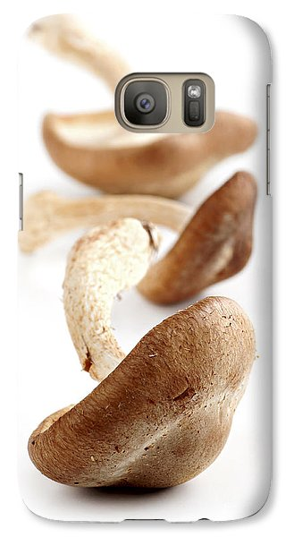 Shiitake Mushrooms Galaxy Case by Elena Elisseeva