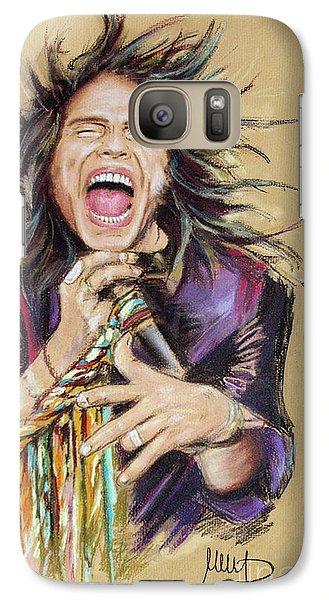 Steven Tyler  Galaxy S7 Case by Melanie D