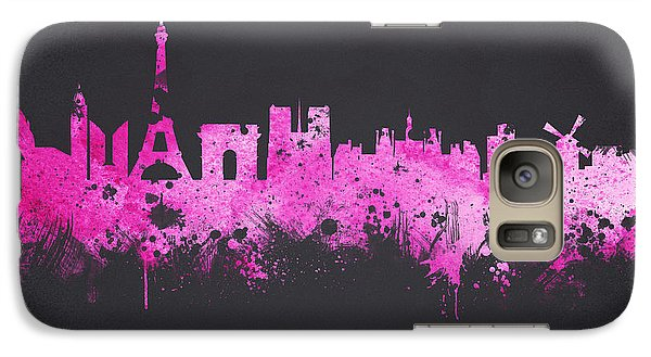 The City Of Love Galaxy Case by Aged Pixel