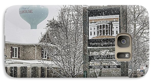 The Whitehouse Inn Sign 7034 Galaxy S7 Case by Jack Schultz