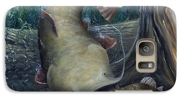Top Dog Galaxy Case by Catfish Lawrence