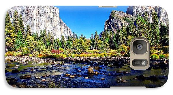 Valley View Yosemite National Park Galaxy Case by Scott McGuire