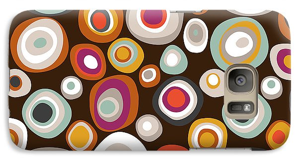 Veneto Boho Spot Chocolate Galaxy Case by Sharon Turner