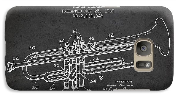 Vinatge Trumpet Patent From 1939 Galaxy S7 Case by Aged Pixel
