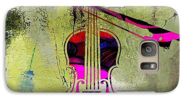 Violin And Bow Galaxy Case by Marvin Blaine