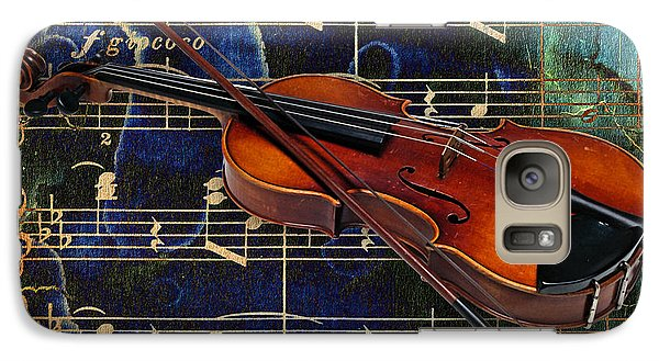 Violin Collection Galaxy Case by Marvin Blaine