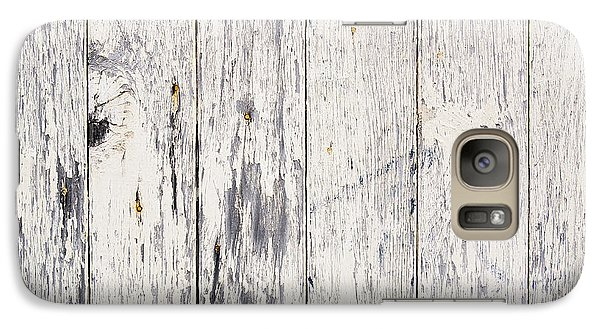 Weathered Paint On Wood Galaxy Case by Tim Hester