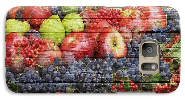 Fruit Galaxy S7 Case by Joe Hamilton