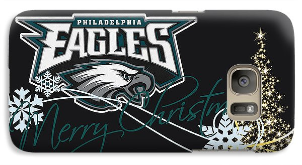 Philadelphia Eagles Galaxy Case by Joe Hamilton