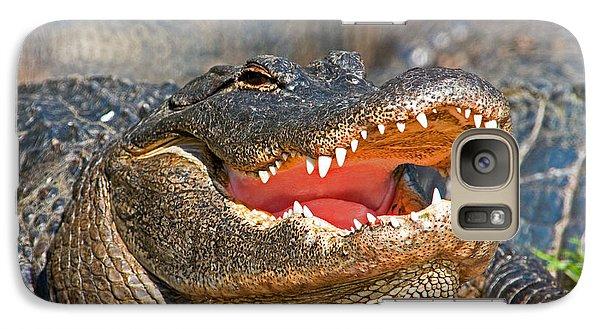 American Alligator Galaxy Case by Millard H. Sharp