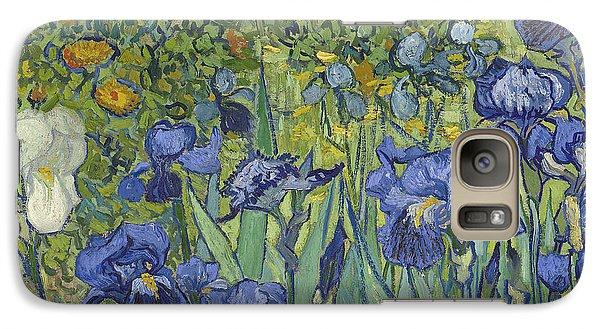 Irises Galaxy S7 Case by Vincent Van Gogh