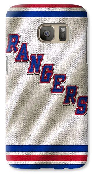 New York Rangers Galaxy Case by Joe Hamilton