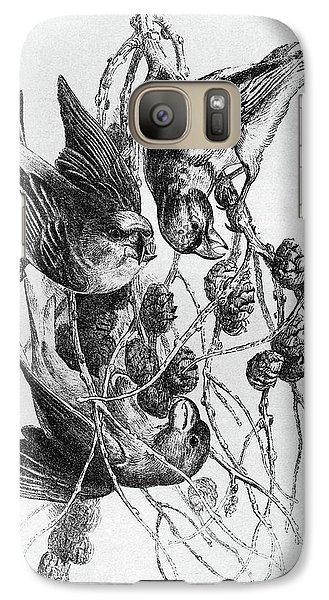 Blackburn Birds, 1895 Galaxy S7 Case by Granger
