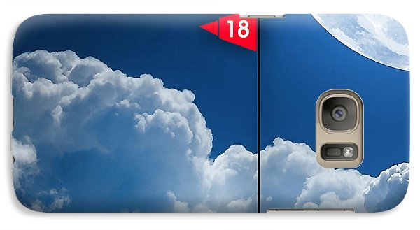 18th Hole Galaxy Case by Marvin Blaine