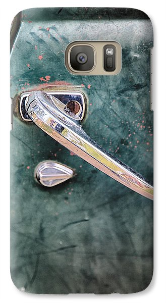 1950 Classic Chevy Pickup Door Handle Galaxy S7 Case by Adam Romanowicz
