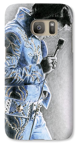 1972 Light Blue Wheat Suit Galaxy S7 Case by Rob De Vries