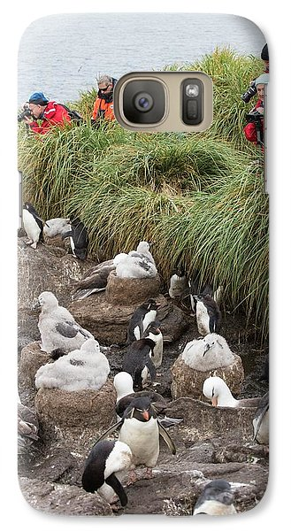 A Black Browed Albatross Galaxy S7 Case by Ashley Cooper