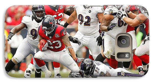 Arian Foster Galaxy Case by Marvin Blaine