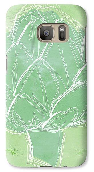 Artichoke Galaxy Case by Linda Woods
