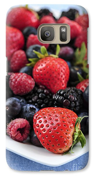 Assorted Fresh Berries Galaxy Case by Elena Elisseeva