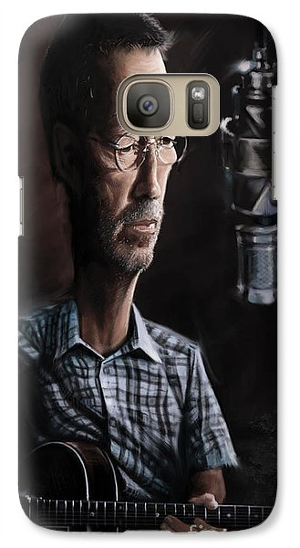 Eric Clapton Galaxy Case by Andre Koekemoer