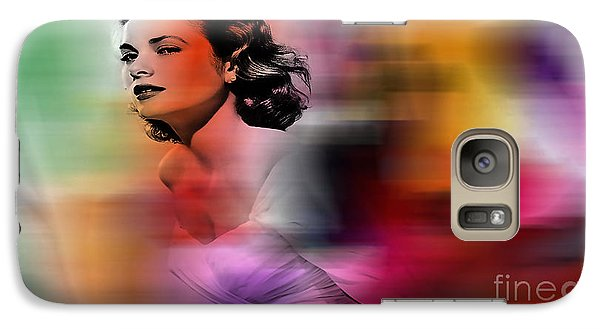 Grace Kelly Galaxy Case by Marvin Blaine