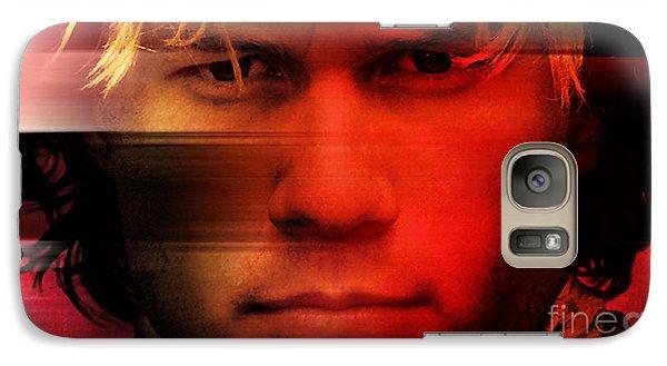 Heath Ledger Galaxy Case by Marvin Blaine