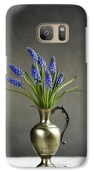 Hyacinth Still Life Galaxy Case by Nailia Schwarz