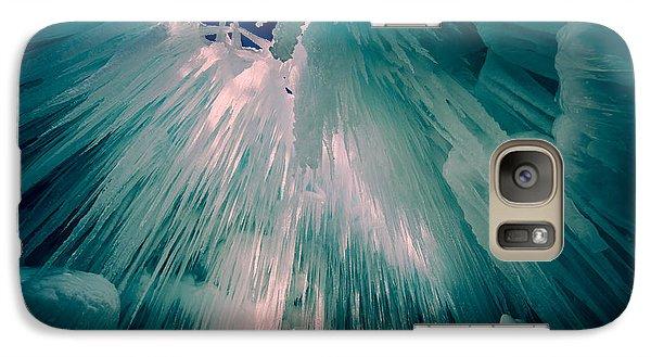 Ice Castle Galaxy Case by Edward Fielding