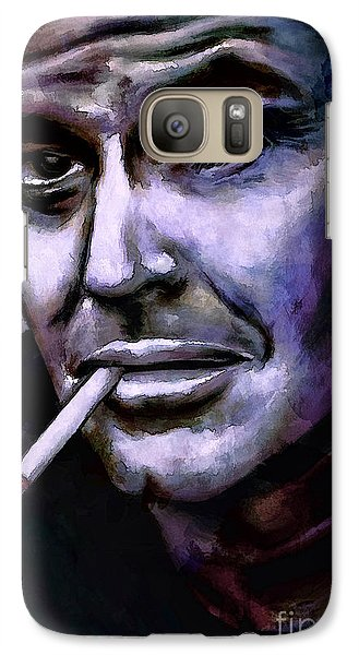 Jack Nicholson Galaxy S7 Case by Andrzej Szczerski