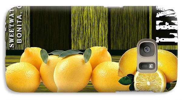 Lemon Farm Galaxy Case by Marvin Blaine